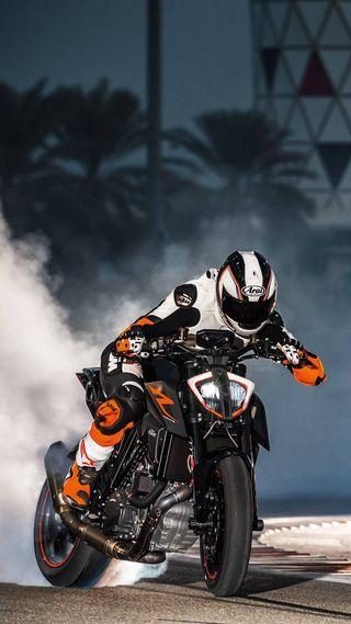 Обои на телефон супер, ночь, мотоциклы, моторы, логотипы, motor, duke 1290, duke, bandit