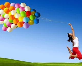 Обои на телефон шары, счастье, цветные, самсунг, девушки, samsung