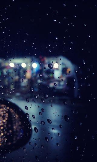 Обои на телефон шри ланка, капли, огни, ночь, машины, зеркало, дождь, вода, nighttime, lowloght