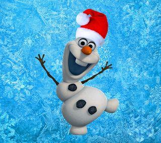 Обои на телефон холодное, снеговик, санта, олаф, милые, дисней, disney