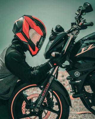 Обои на телефон вид, байкер, biker vision