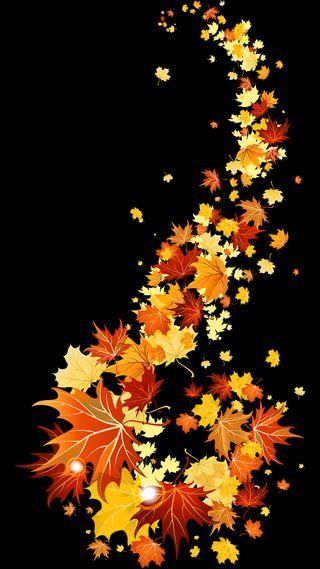 Обои на телефон осень, листья, fall leaves, fall autumn