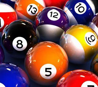 Обои на телефон числа, релакс, шары, спортивные, pool, eight, billiards