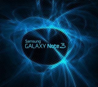 Обои на телефон синие, самсунг, неоновые, логотипы, галактика, вихрь, samsung, note3, galaxy