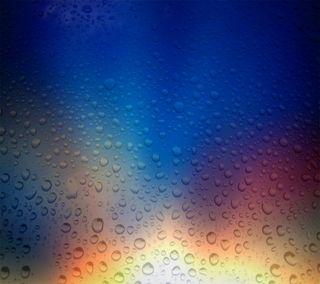 Обои на телефон размытые, цветные, стекло, капли, абстрактные