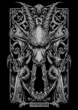 Обои на телефон зодиак, череп, козел, знаки, звезда, воин, horoscope, capricorn star sign, capricorn, astrological