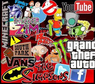 Обои на телефон тв, бренды, vans, tv shows