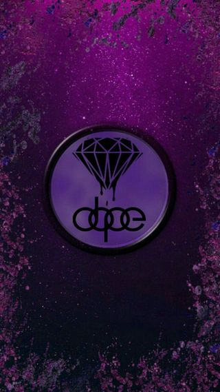 Обои на телефон бриллиант, фиолетовые, dope