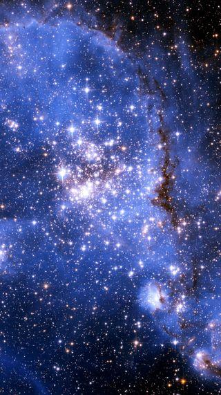Обои на телефон туманность, природа, звезды, галактика, galaxy