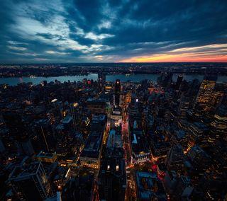 Обои на телефон ny, новый, город, нью йорк, манхэттен