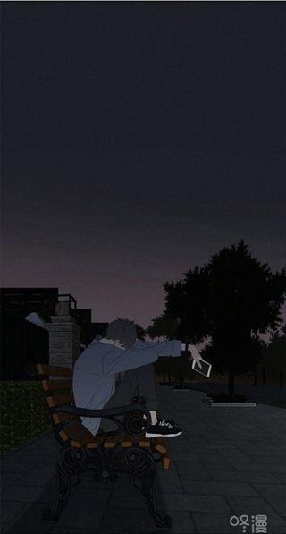 Обои на телефон мальчик, грустные, аниме, anime sad