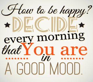 Обои на телефон настроение, цитата, текст, счастливые, поговорка, будь, to be, happy, good, decide
