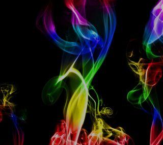 Обои на телефон дым, галактика, nexus, galaxy