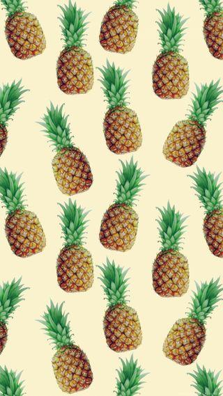 Обои на телефон узоры, фрукты, сосна, еда, ананас, pineapples