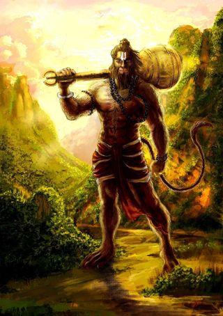 Обои на телефон хануман, религиозные, индийские, бог, indian god