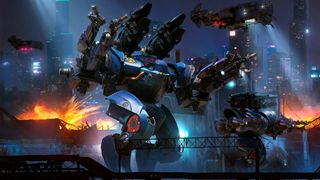Обои на телефон роботы, война, war robots, spectro, battlefield