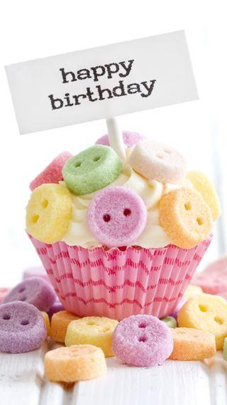 Обои на телефон сладости, празднование, кекс, день рождения, счастливые, happy