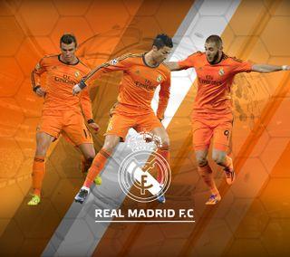 Обои на телефон футбол, рональдо, реал, оранжевые, мадрид, real madrid orange