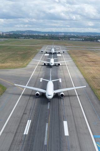 Обои на телефон семья, nek, aviation, airbus family