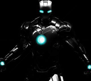 Обои на телефон фильм, фильмы, трон, синие, железный, iron tron