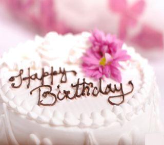 Обои на телефон день рождения, цветы, торт, счастливые, прекрасные, happy