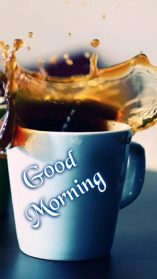 Обои на телефон чай, чашка, утро, ты, кофе, hd, good, coffee cup