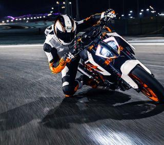 Обои на телефон мотоцикл, гонка, мальчик, ктм, байкер, байк, ktm bike, hd