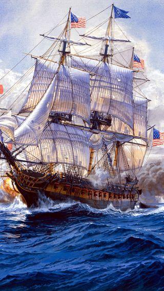 Обои на телефон военно морские, старые, линии, корабли, американские, ship of the line, old american navy