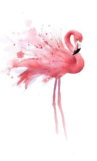 Обои на телефон розовые, любовь, аниме, pink flamingo, love