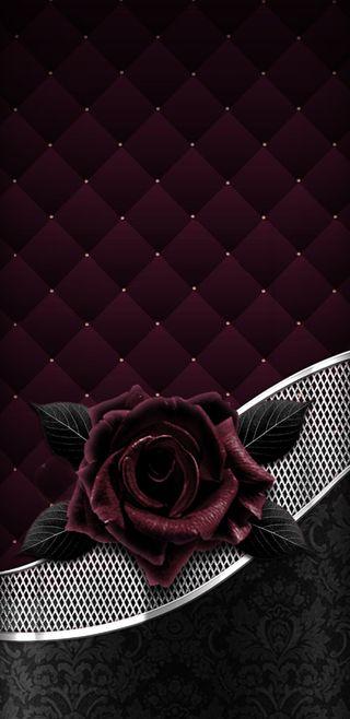 Обои на телефон серебряные, розы, прекрасные, золотые, винтаж, бордовые, velvetrose, velvet, padded