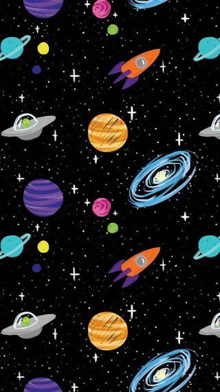 Обои на телефон планета, галактика, galaxy, cosmo