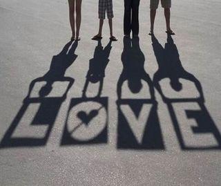 Обои на телефон тень, сердце, поцелуй, пара, новый, милые, любовь, девушки, галактика, love, galaxy