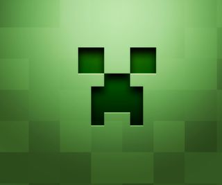 Обои на телефон майнкрафт, крипер, зеленые, explode
