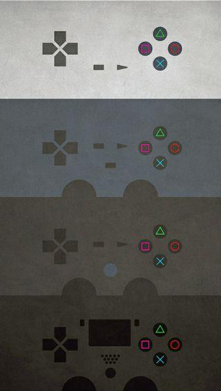 Обои на телефон крест, цветные, треугольник, пс4, круги, красочные, квадратные, psone, ps4, ps1 at ps4, playstation4, playstation
