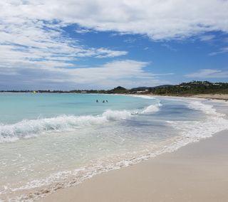 Обои на телефон релакс, пляж, песок, отпуск, карибсий