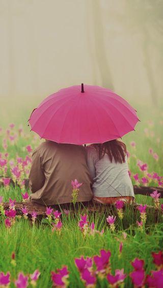 Обои на телефон любовники, романтика, пара, любовь, амбрелла, romantic couple, love