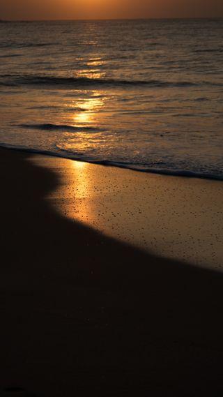 Обои на телефон шри ланка, утро, свет, пляж, море, волны, вечер, берег