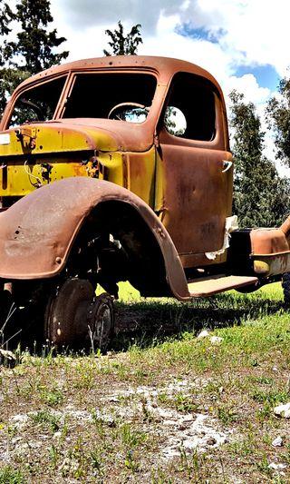 Обои на телефон грузовик, старые, природа, машины