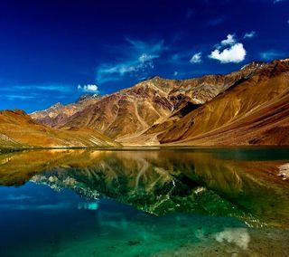 Обои на телефон удивительные, природа, озеро, небо, классные, горы, вода, вид, lake hd