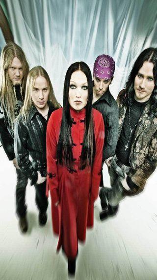 Обои на телефон группа, музыка, металл, nightwish, finland