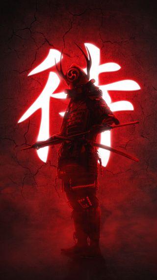 Обои на телефон supreme, война, воин, самурай