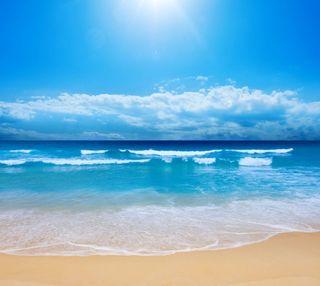 Обои на телефон праздник, пляж, небо, лето