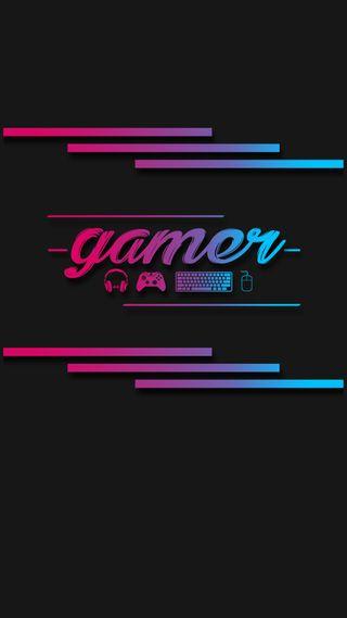Обои на телефон геймер, я, экран, ты, тускнеть, синие, розовые, галактика, блокировка, galaxy
