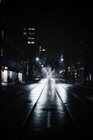 Обои на телефон улица, тень, темные, свет, ночь, марвел, города, город, whatsapp, street on night, marvel