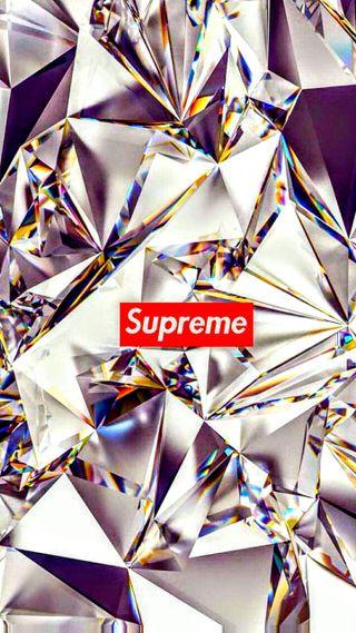 Обои на телефон бриллиант, supreme, dope