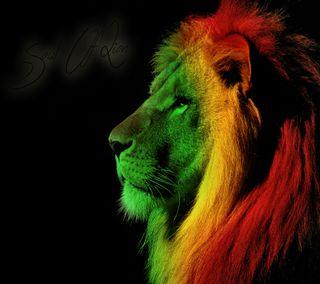 Обои на телефон регги, леон, лев, душа, soul of lion, rastafari