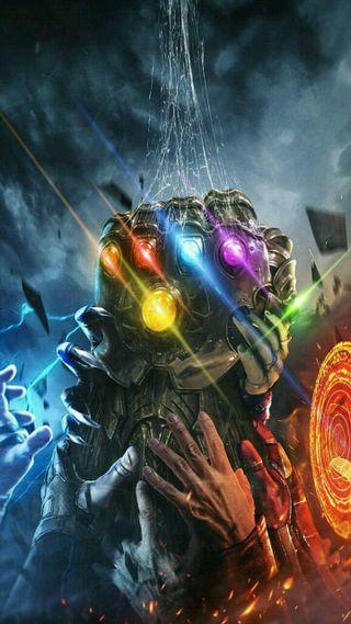 Обои на телефон танос, мстители, марвел, бесконечность, marvel, gauntlet