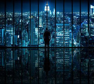 Обои на телефон фулл хд, мир, темные, нью йорк, ночь, новый, жизнь, город, вид, man, hd