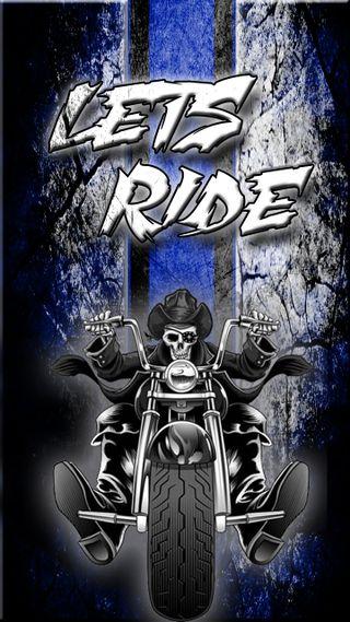 Обои на телефон байкер, череп, харли, поездка, мотоциклы, мотивация, дэвидсон, готы, lets ride