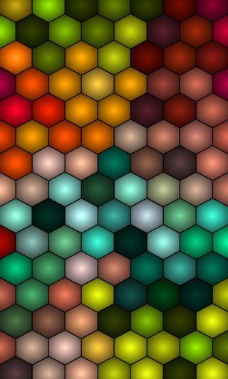Обои на телефон векторные, шаблон, текстуры, круги, красочные, абстрактные